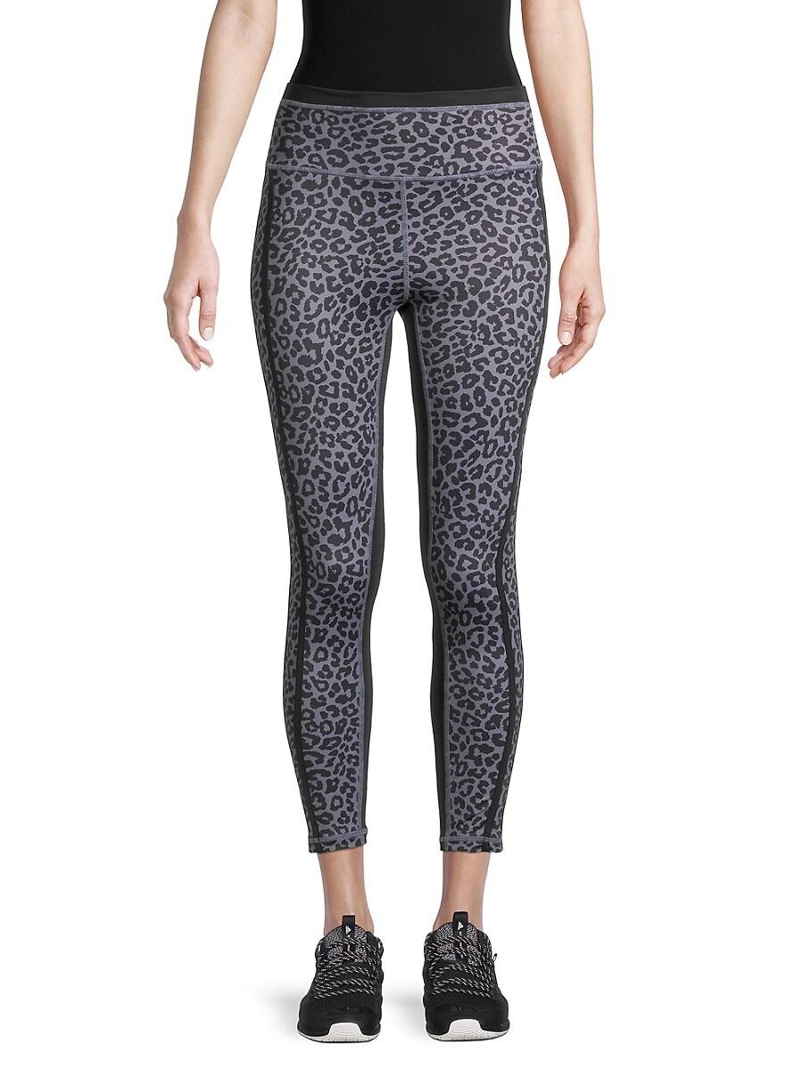 Women's Avery Cheetah-Print Active Leggings