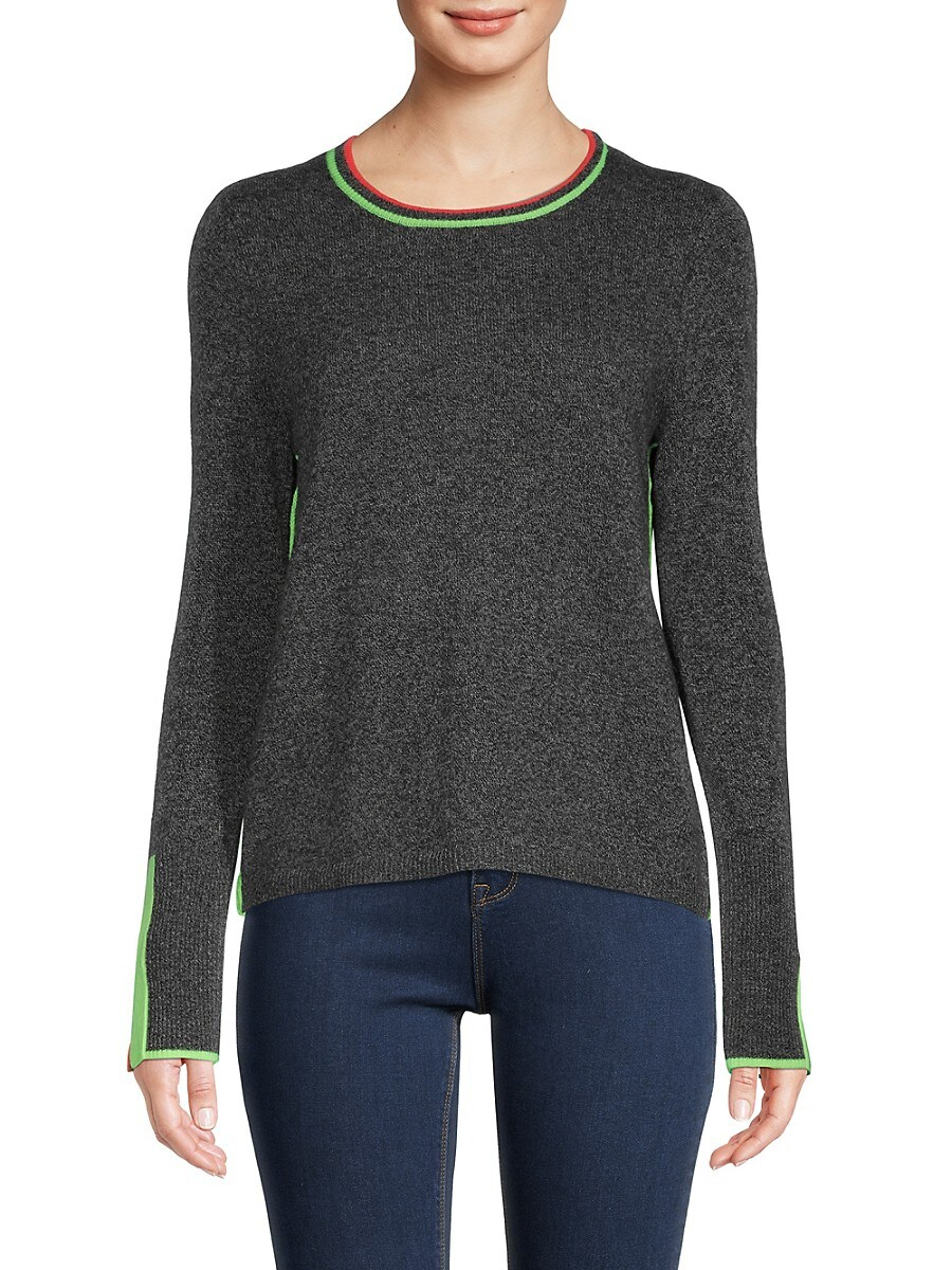Women's Striped Cashmere Sweater