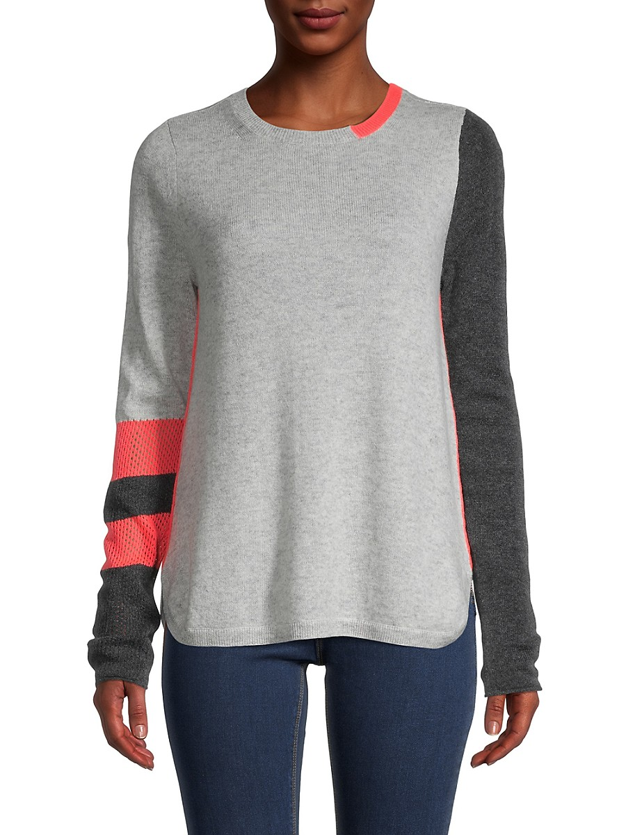 Women's Color Pop Wool & Cashmere Sweater