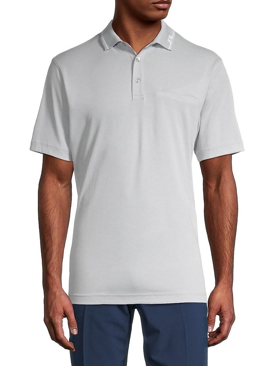 Men's Bill American-Fit Logo Polo