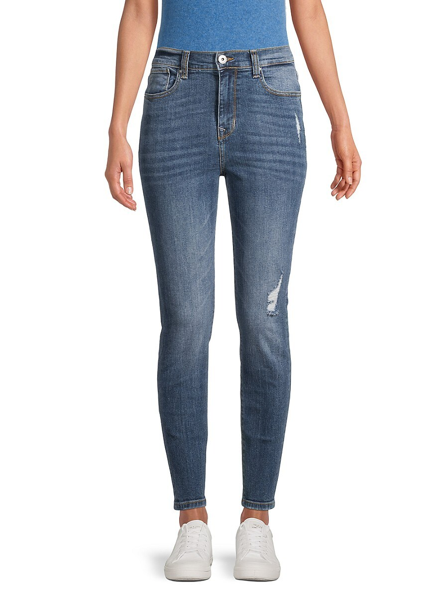 Women's High-Rise Ankle Skinny Jeans