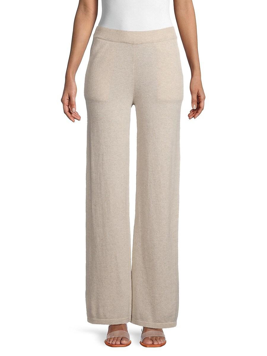 Women's Cashmere Wide-Leg Pants