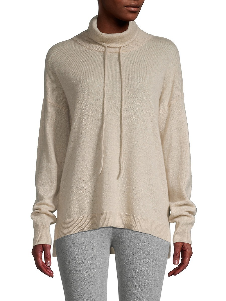 Women's High-Low Cashmere Sweater