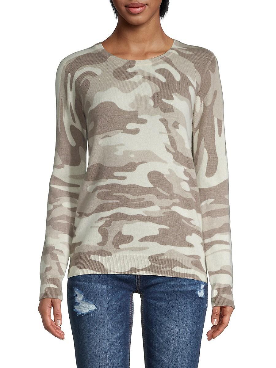Women's Camo Cashmere Sweater