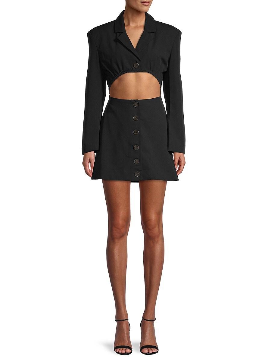 Women's Cutcout Blazer Dress