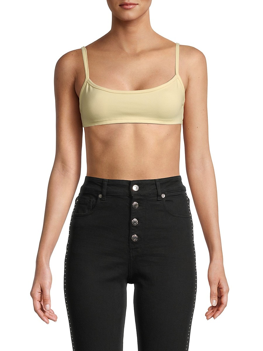 Women's Ponte Cropped Top
