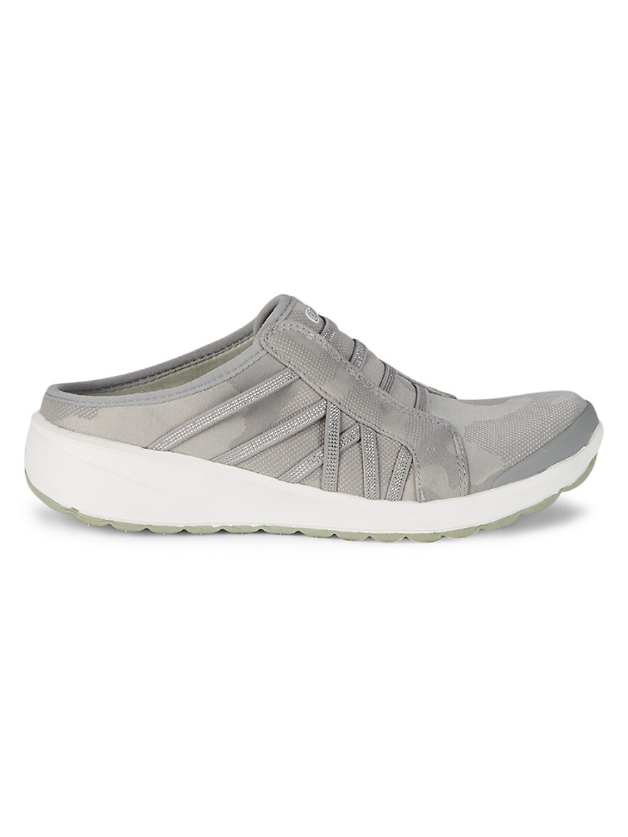 Women's Golden Slip-On Sneaker Mules