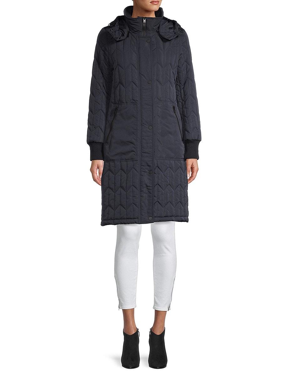 Women's Kiska Quilted Hooded Coat
