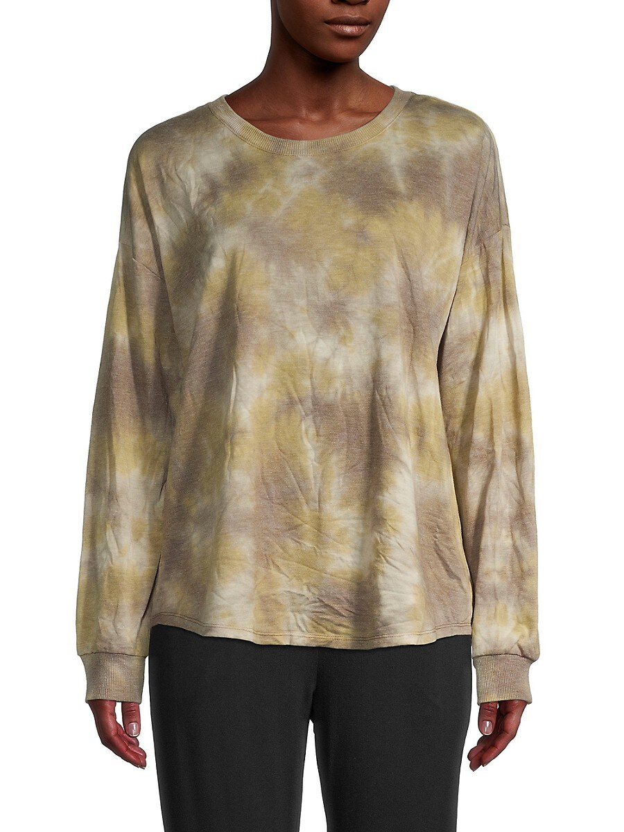 Women's French Terry Long Sleeve Top