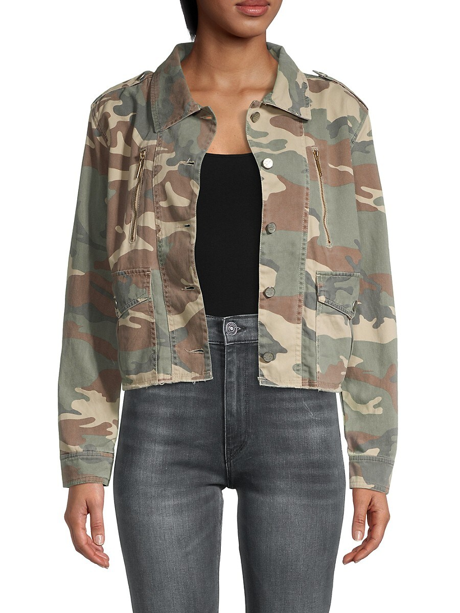 Women's Camo-Print Jacket