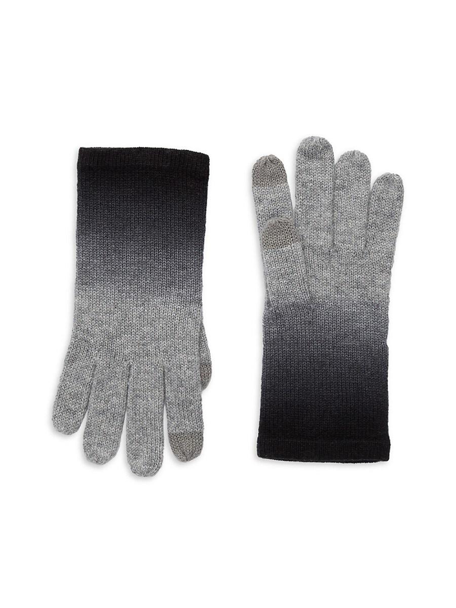 Women's Ombre Cashmere T-Tech Gloves