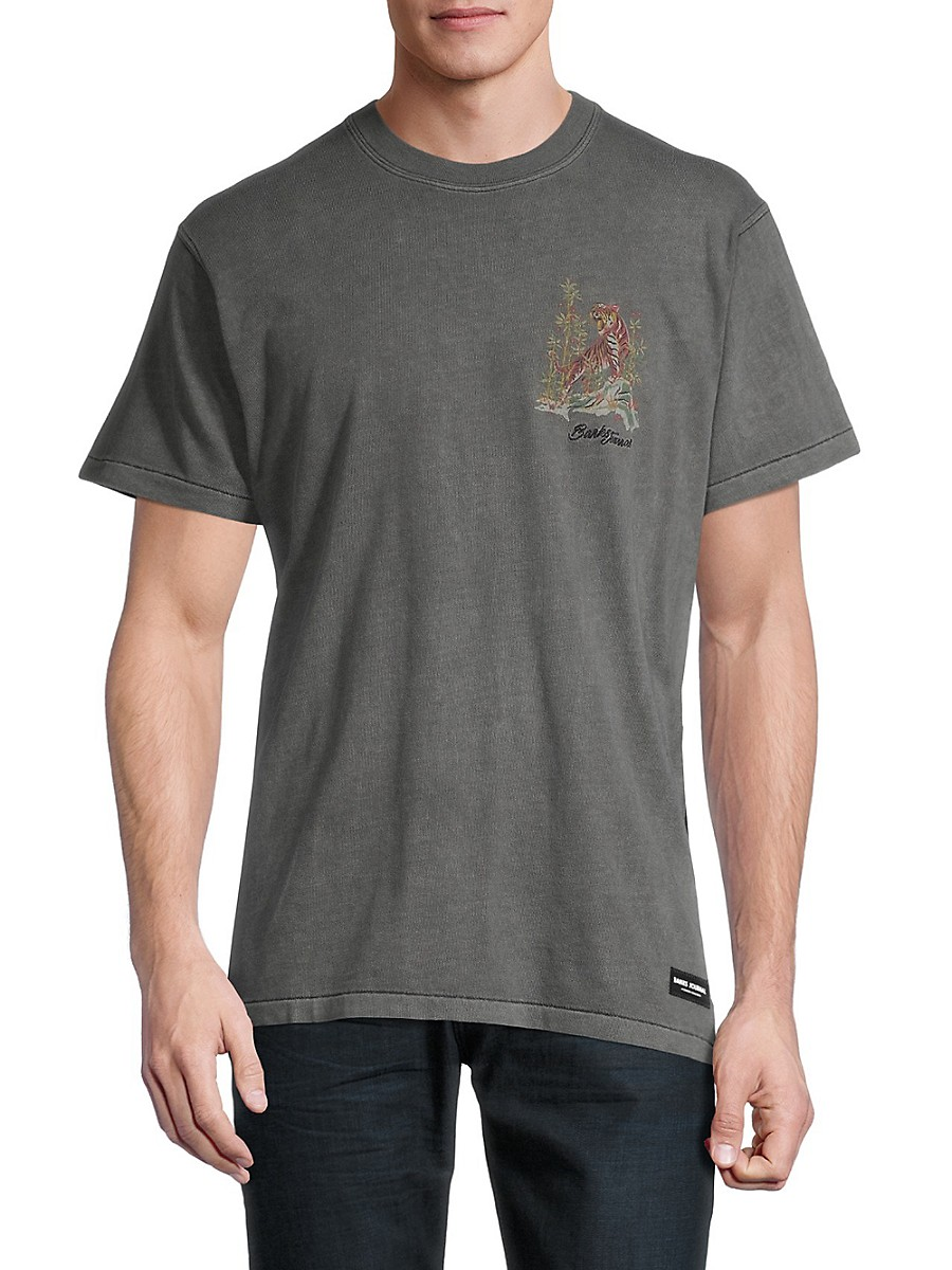 Men's Jared Mell A Curated Collection Tiger Graphic T-Shirt