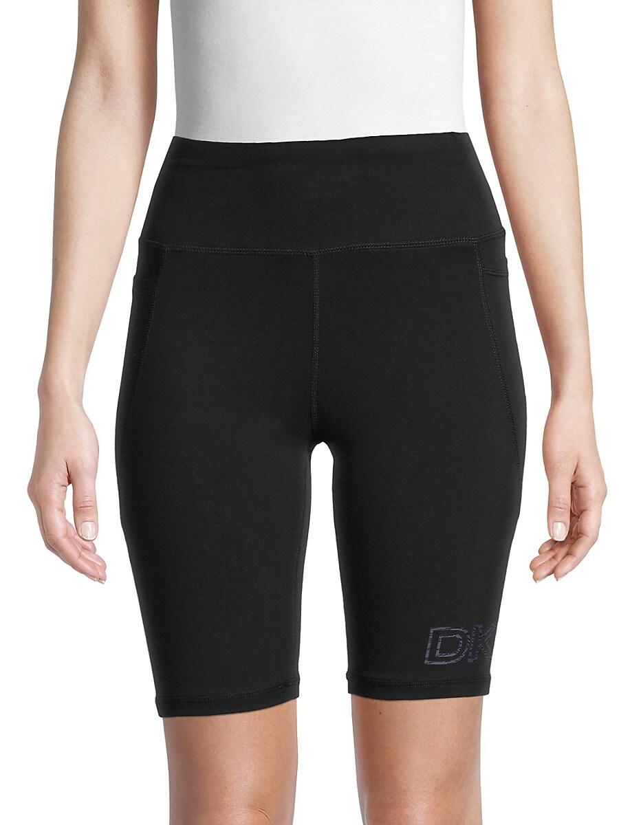 Women's High-Waist Logo Bike Shorts