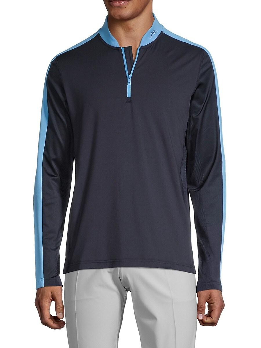 Men's Logo Stretch Mid Layer Sweatshirt
