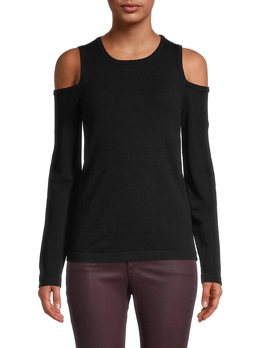 Women's Cold-Shoulder Long-Sleeve Top