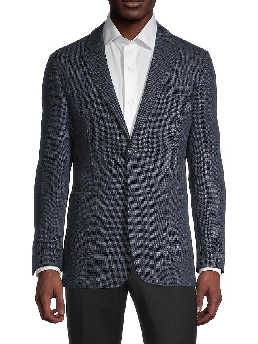 Men's Classic-Fit Wool-Blend Blazer