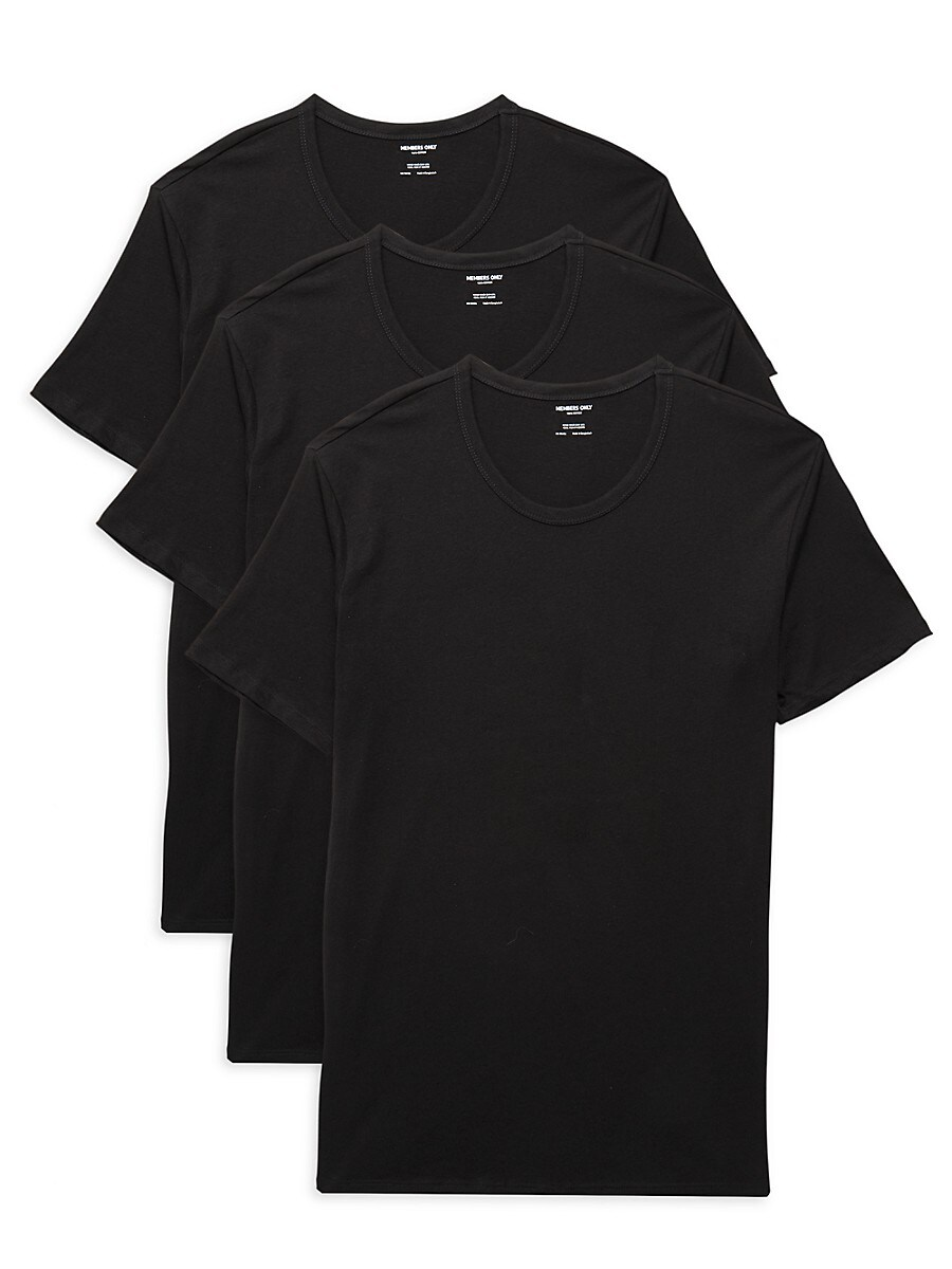 Men's 3-Pack Cotton T-Shirts