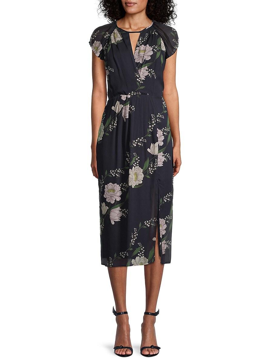 Women's Floral Midi Dress