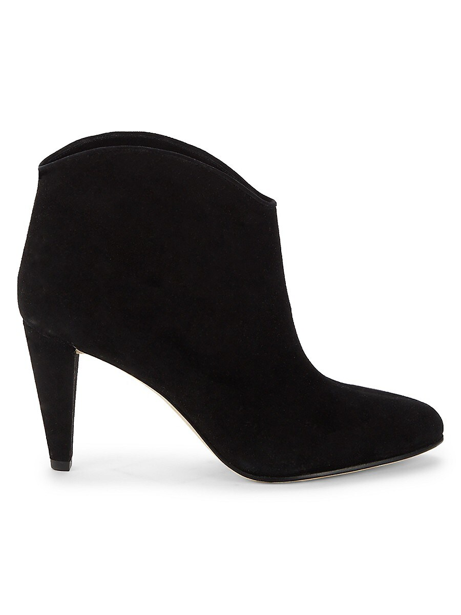 Women's Seville Tapered-Heel Leather Booties