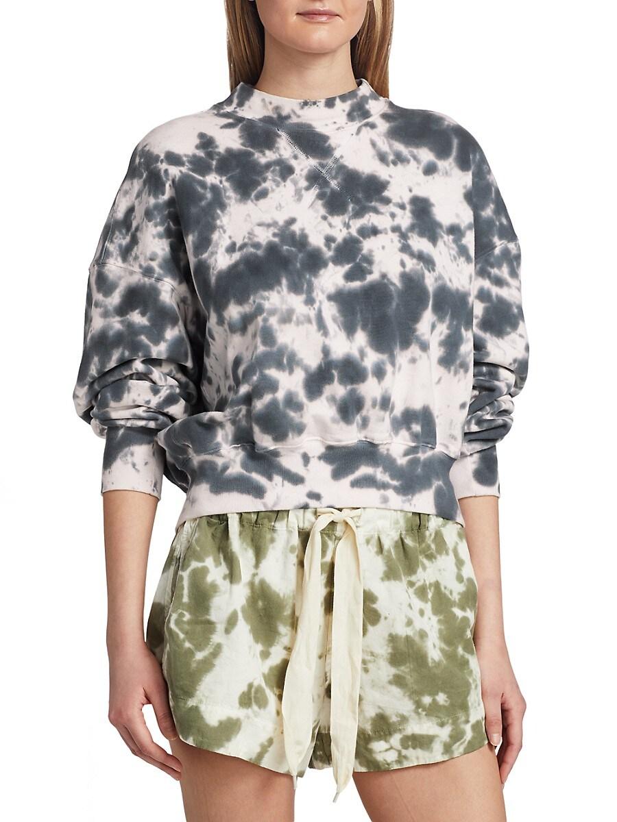 Women's Tie-Dye Fleece Sweatshirt