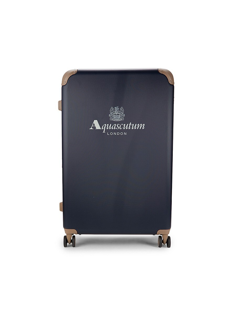 28-Inch Logo Spinner Suitcase
