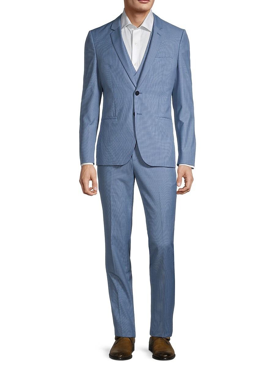 Men's Arti/Hesten Regular-Fit 3-Piece Virgin Wool Suit