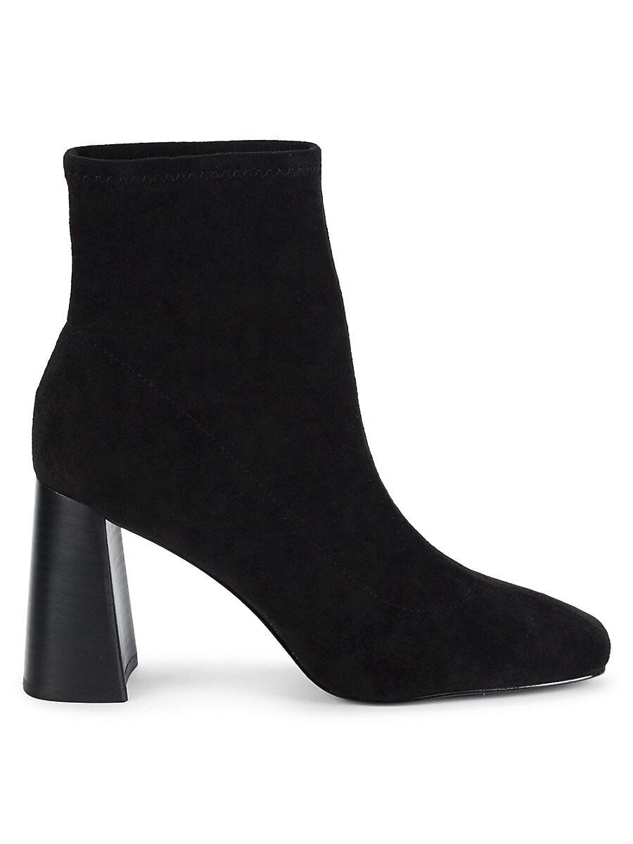 Women's Turmoil Block-Heel Sock Booties