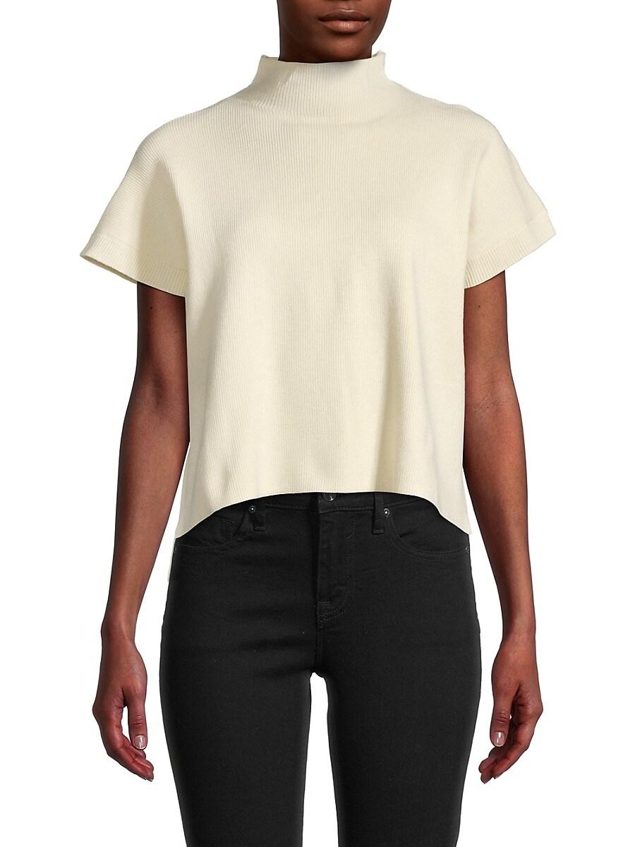 Women's Mockneck Pullover Top