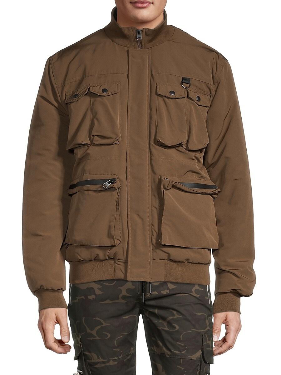 Men's Multi-Pockets Bomber Jacket