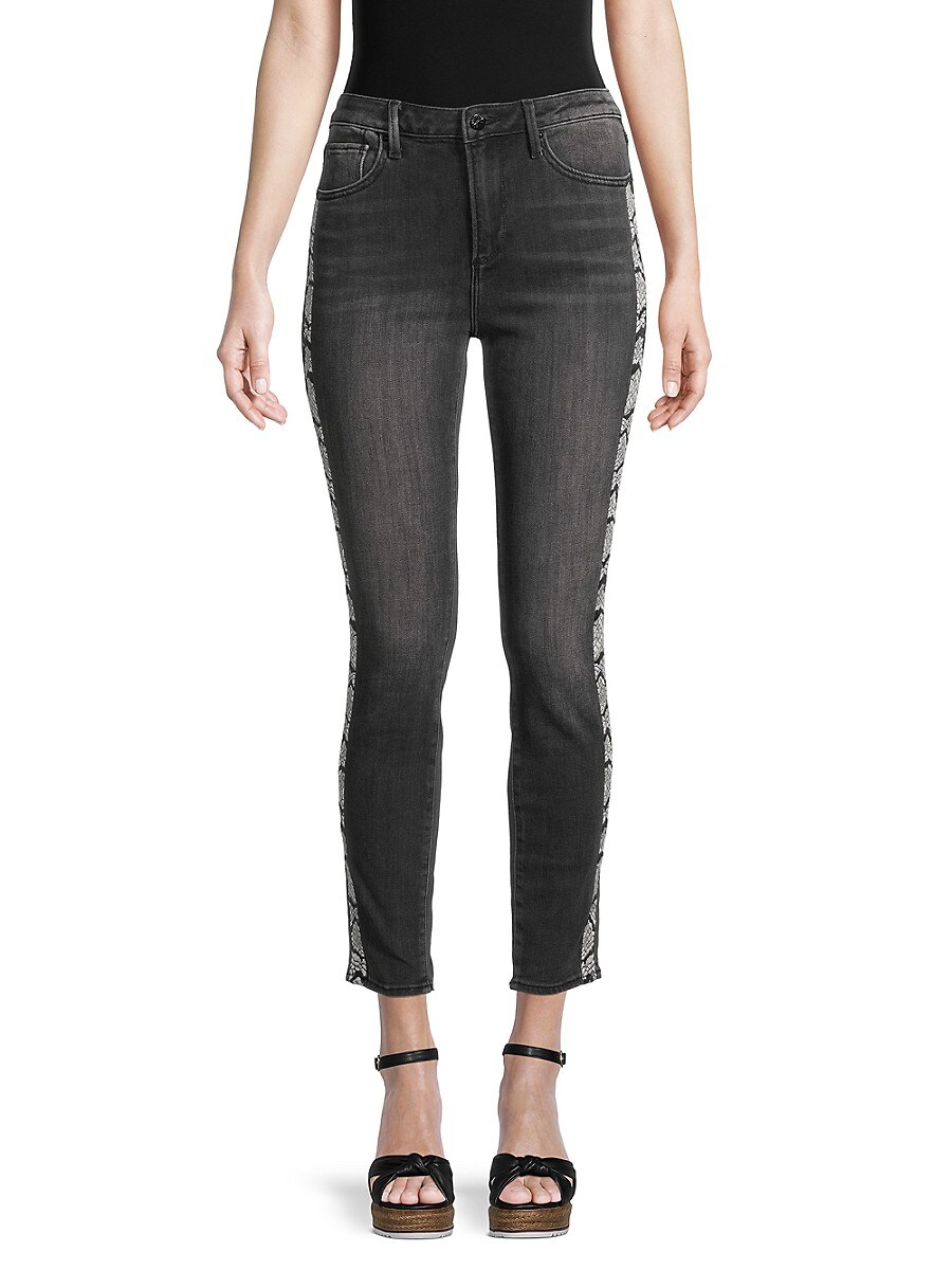 Women's Jackie High-Rise Cropped Jeans
