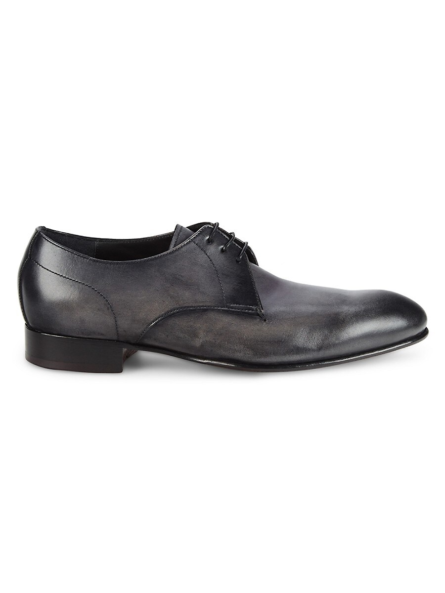 Men's Iconic Leather Derby Shoes