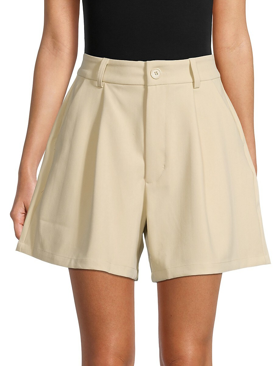 Women's Solid-Colored Shorts