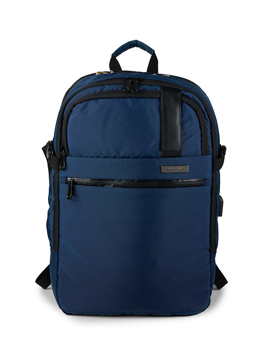 Men's Expandable Charging Backpack Suitcase