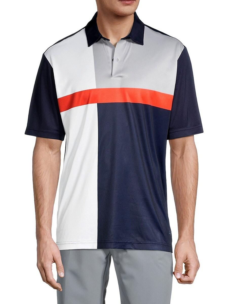 Men's Colorblocked Polo