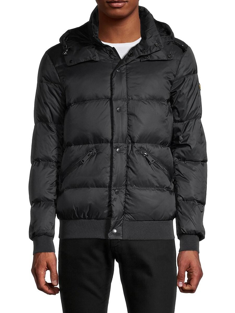 Men's Down Puffer Hooded Jacket
