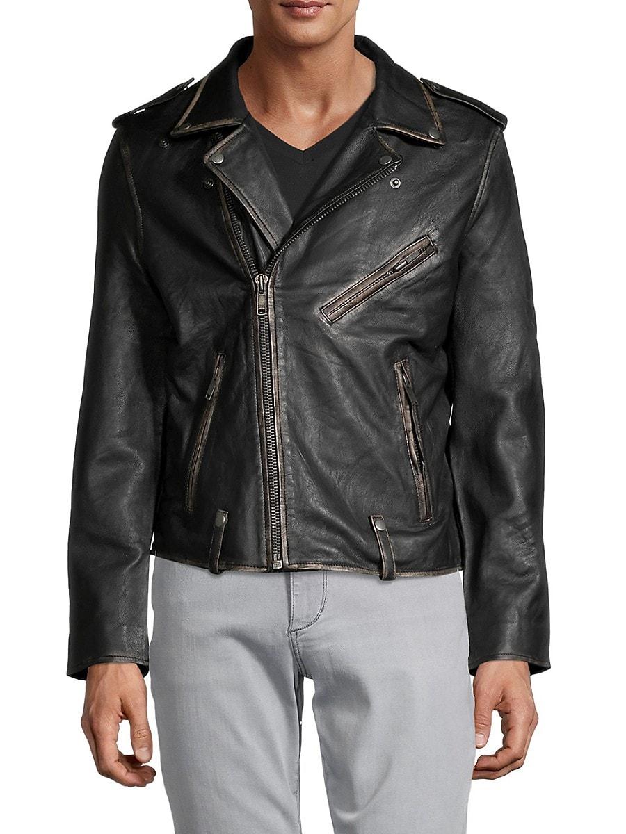 Men's Blade Leather Biker Jacket