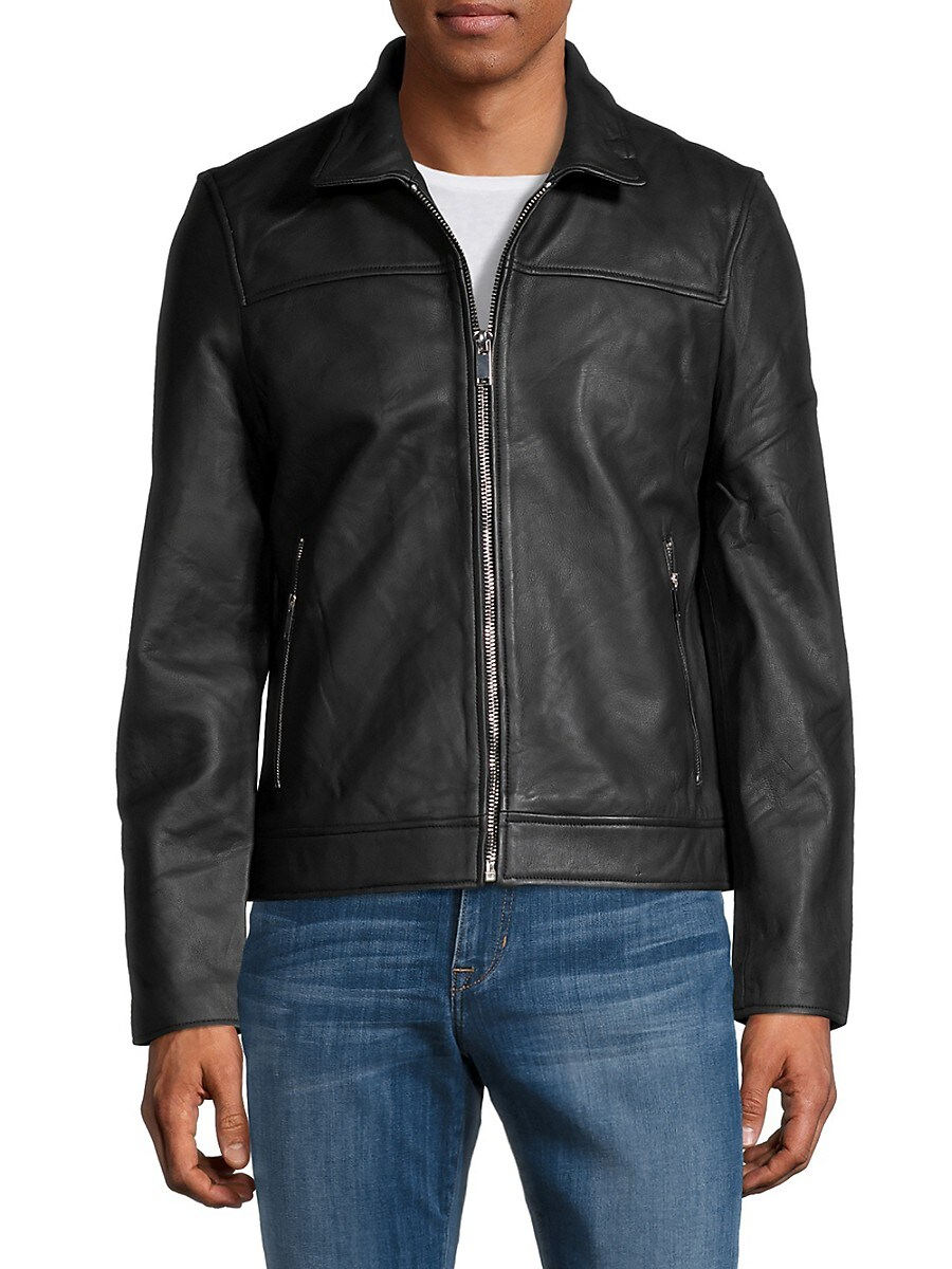 Men's Artesia Leather Jacket