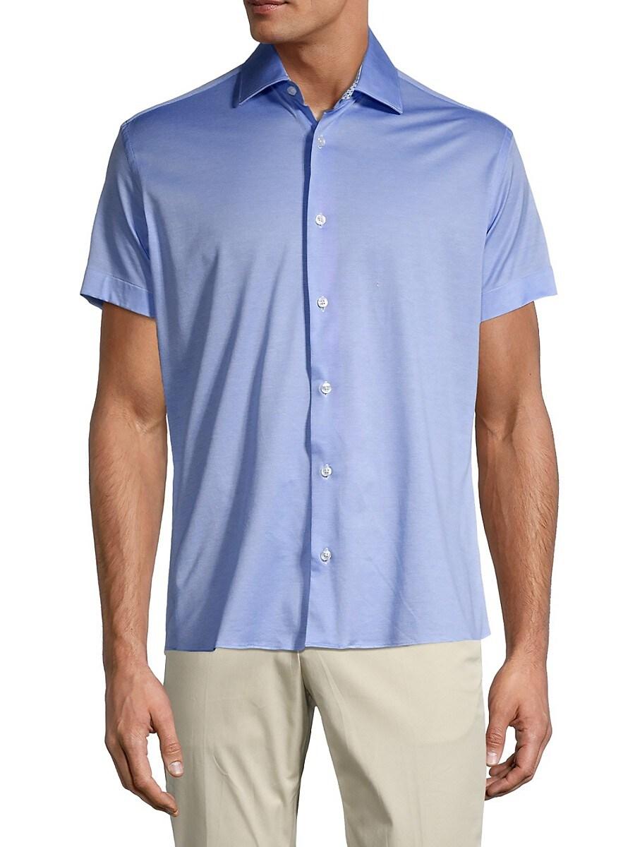 Men's Regular-Fit Short-Sleeve Shirt