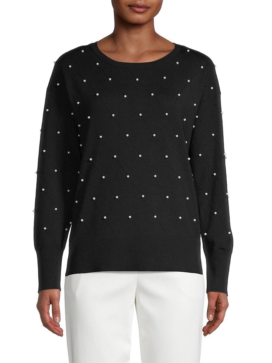 Women's Drop Shoulder Pullover Sweater