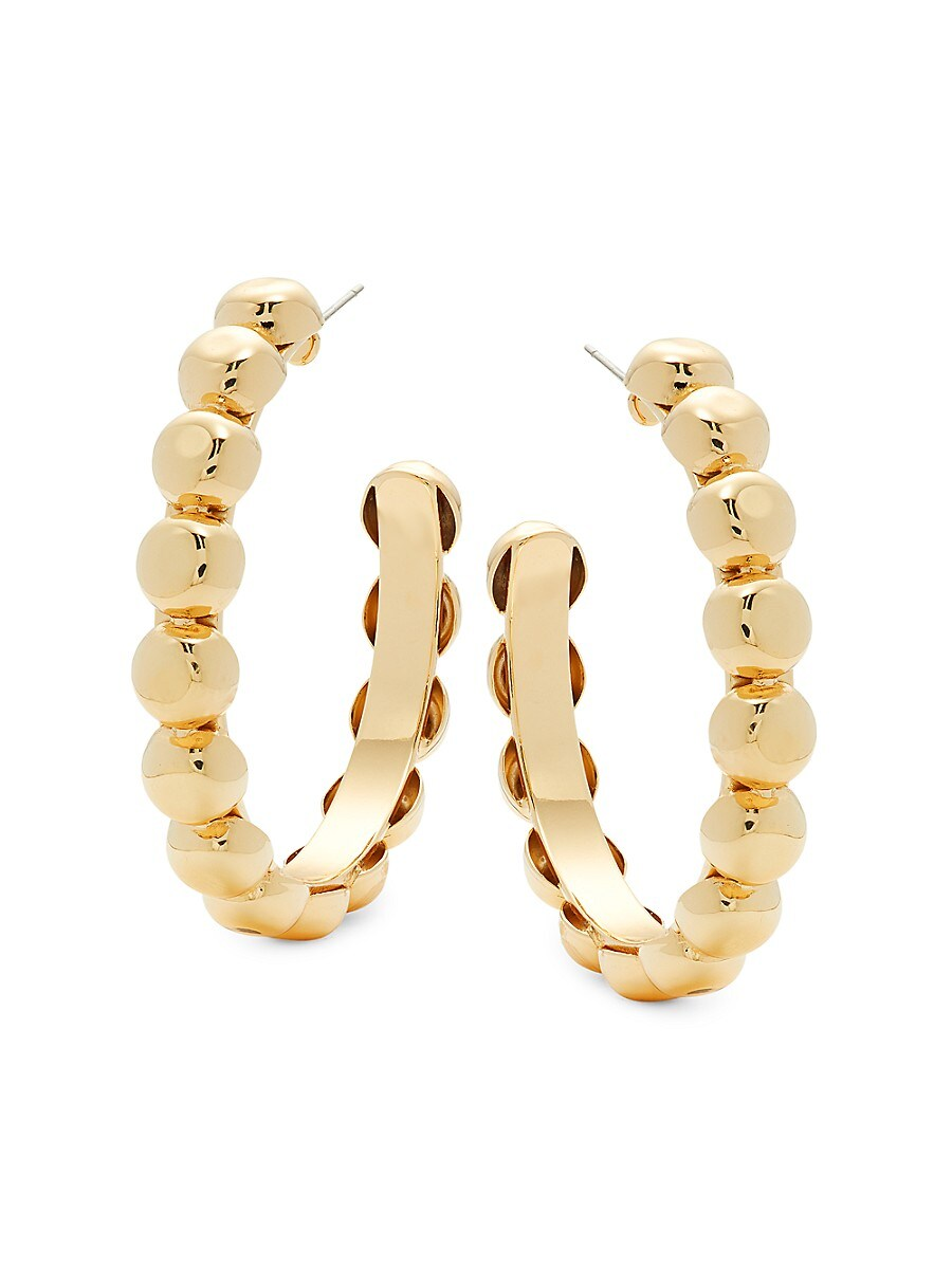 Women's Zoe Goldplated Hoop Earrings