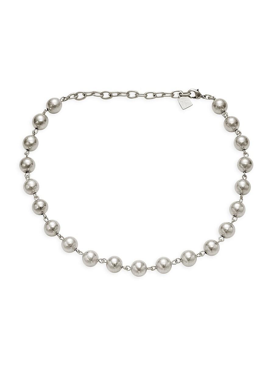 Women's Jordan Silverplated Beaded Necklace