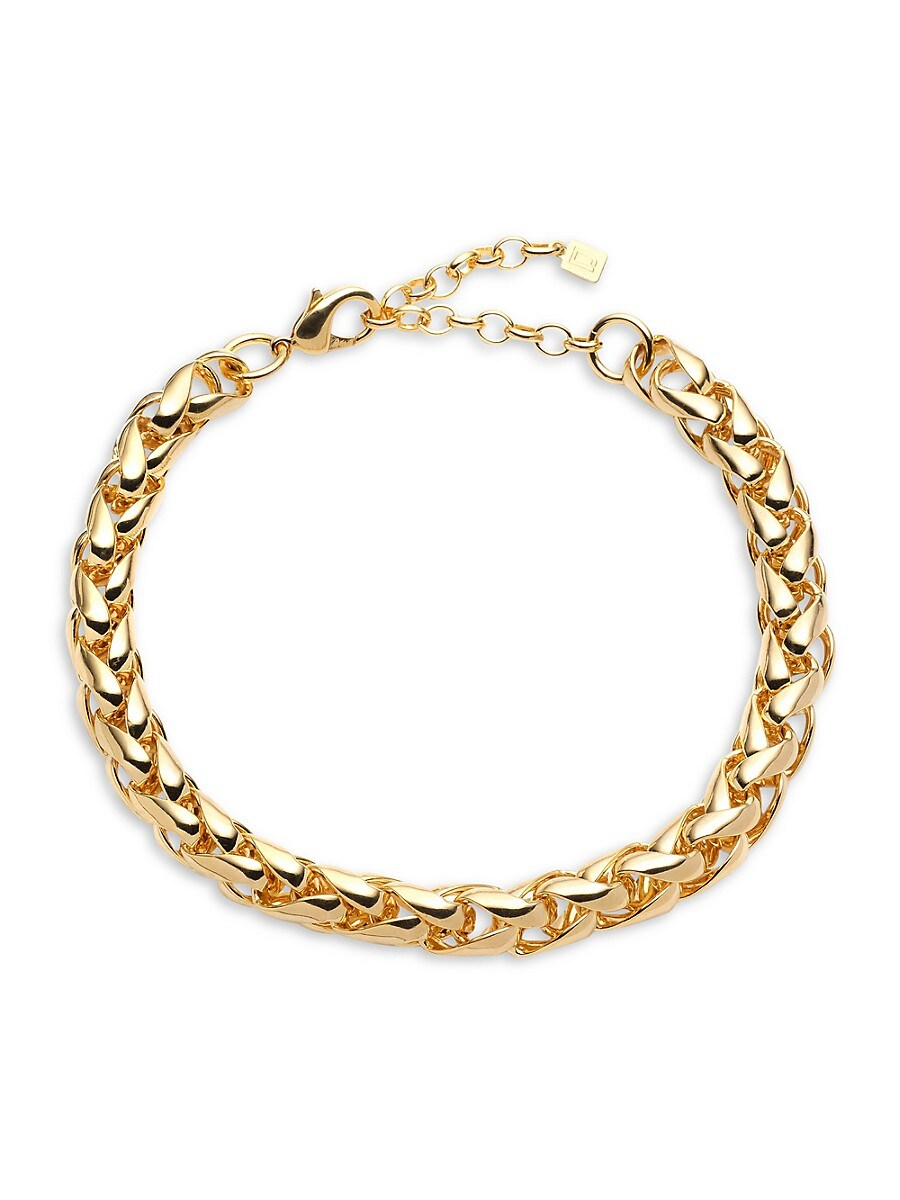 Women's Prairie 10K Goldplated Curb-Link Necklace