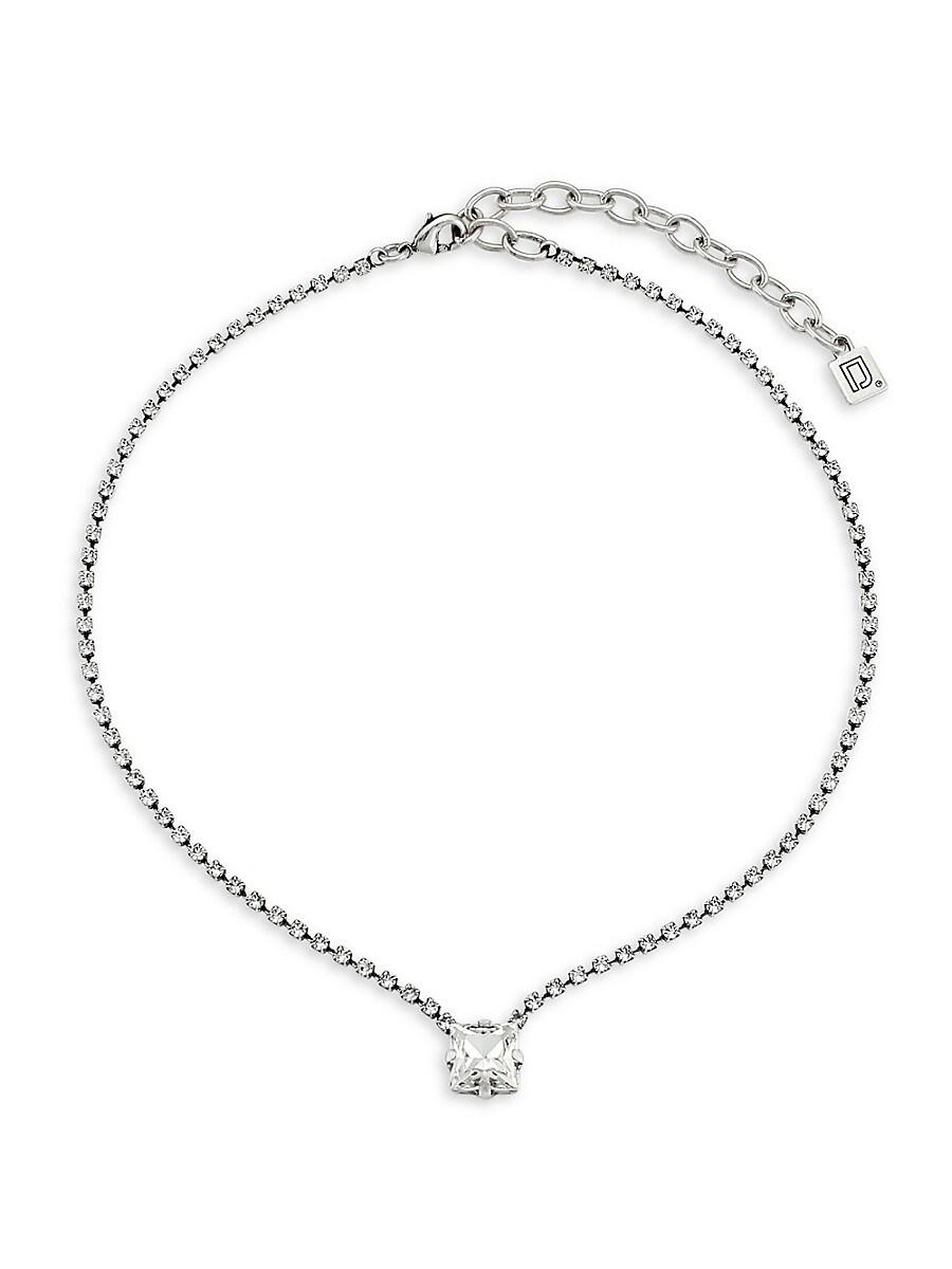 Women's Gem Crystal Necklace