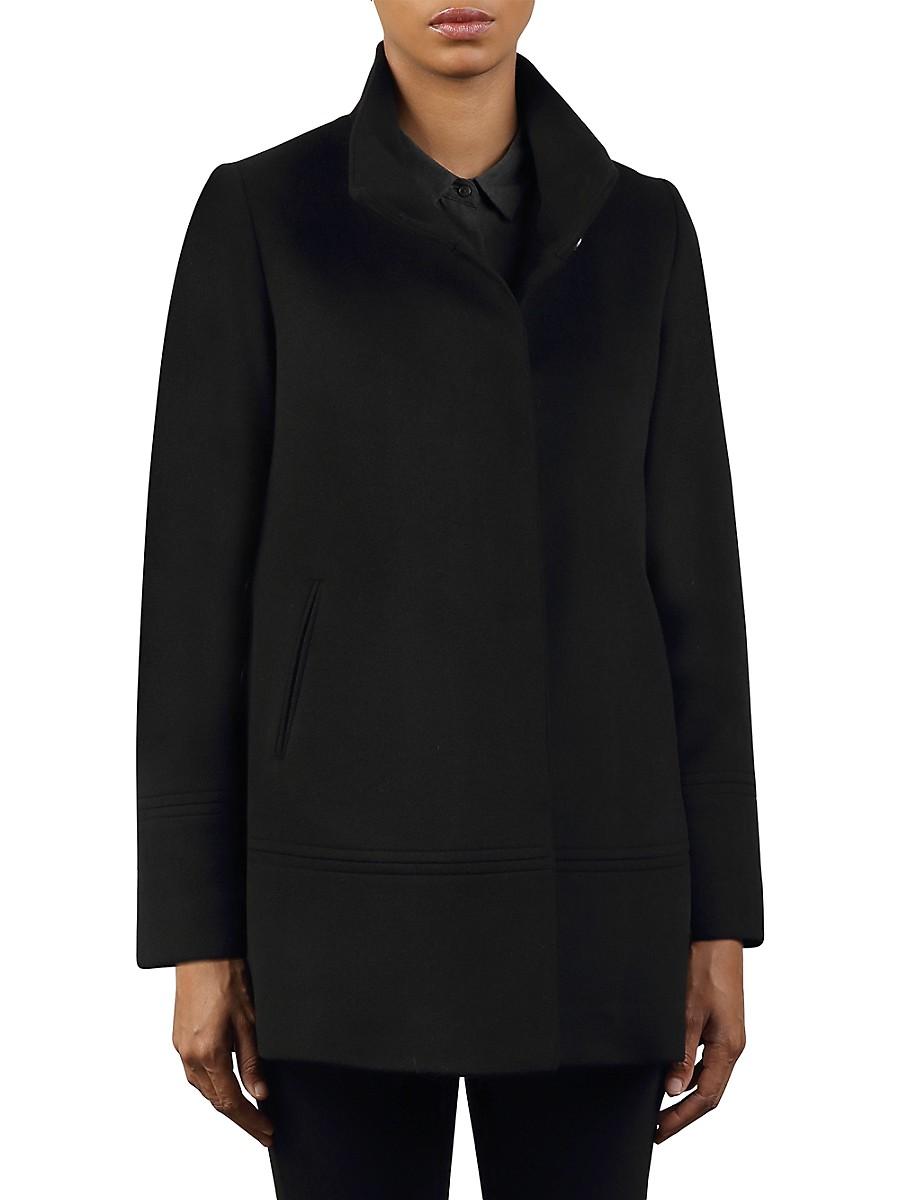 Women's Wool Car Coat