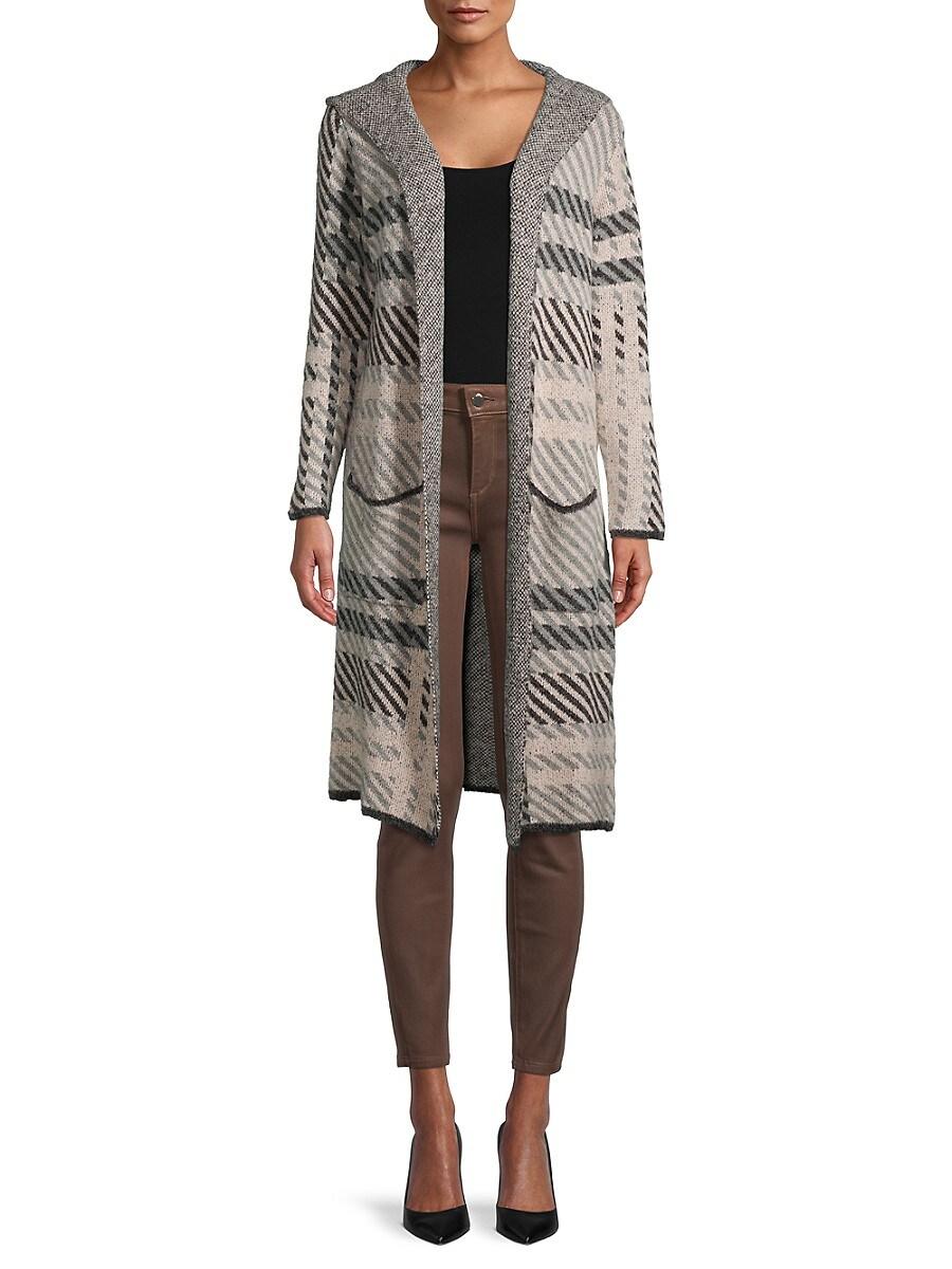 Women's Winston Plaid Hooded Sweater