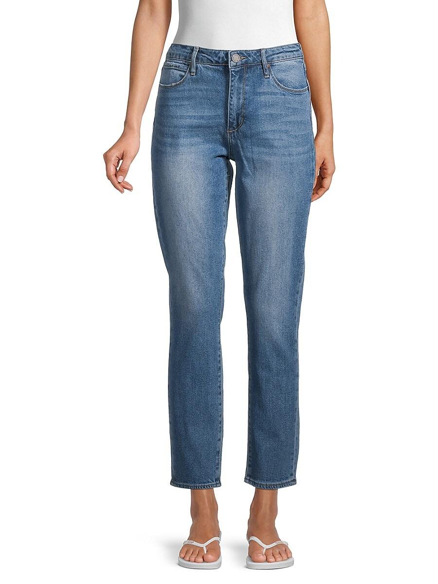Women's Rene High-Rise Straight Leg Jeans