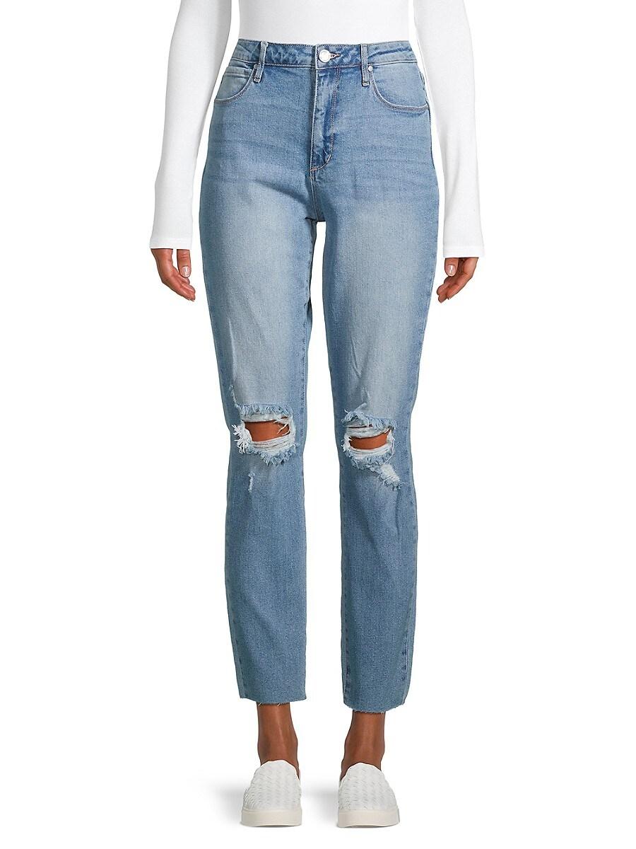 Women's Rene Hi-Rise Distressed Jeans