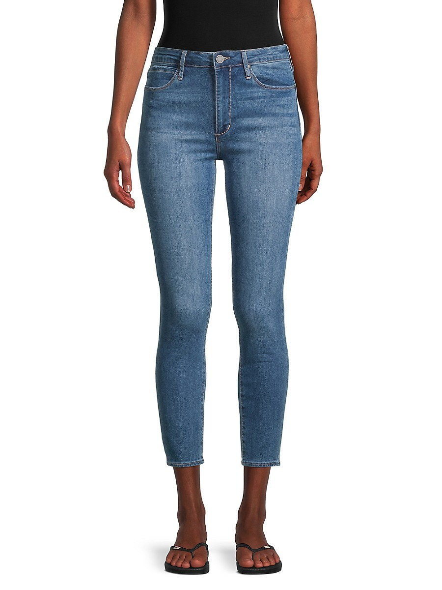 Women's Heather Cropped Jeans