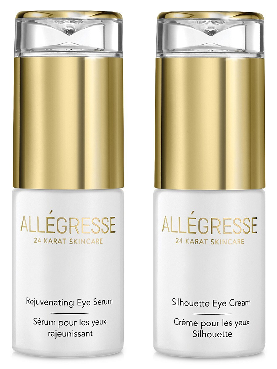 Allegresse 24K Skin Care Women's Rejuvenating Eye 2-Piece Set