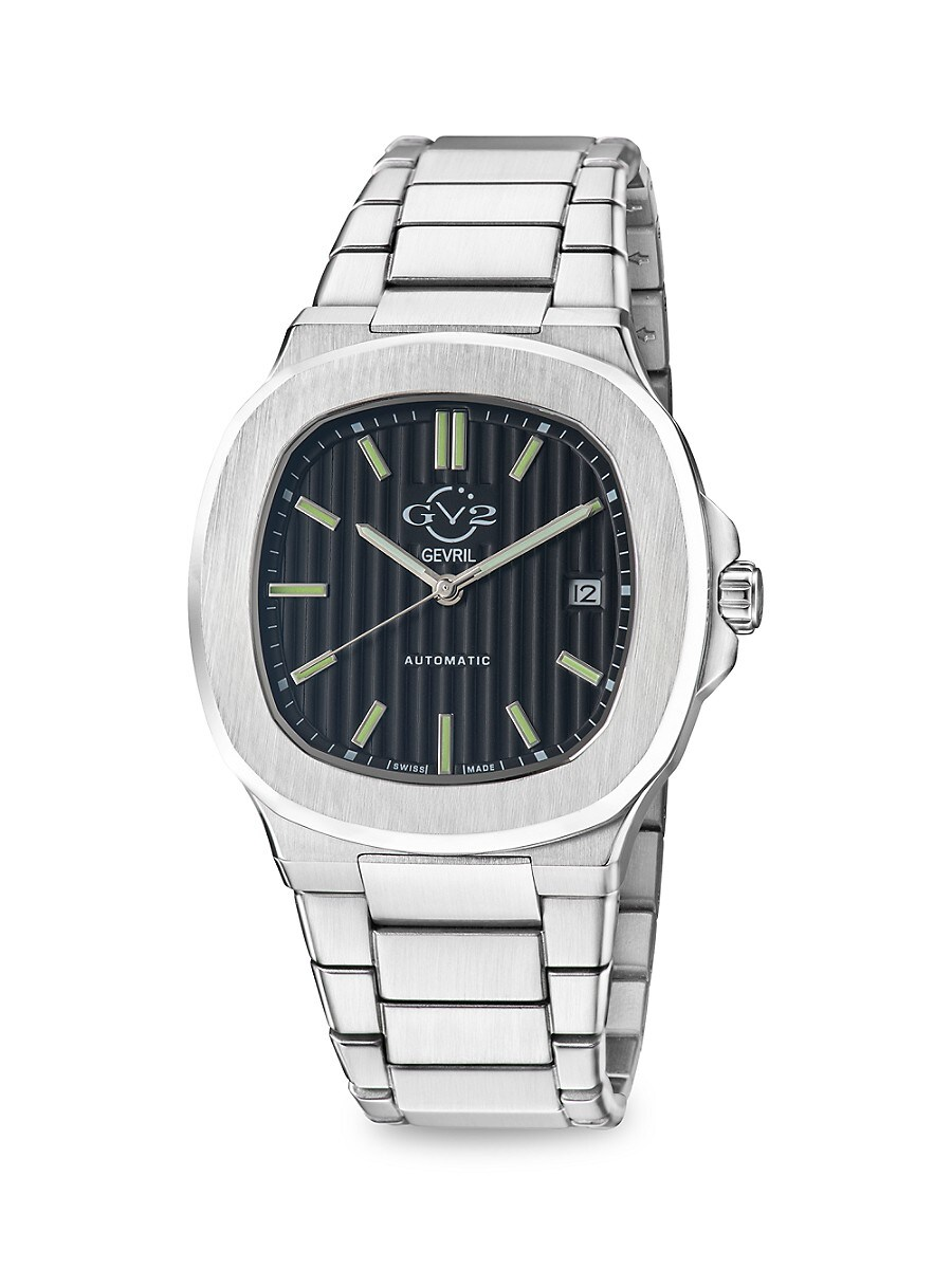 Men's Potente Swiss Automatic Stainless Steel Watch